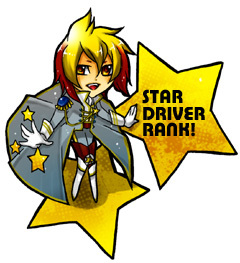 STAR DRIVER RANK!